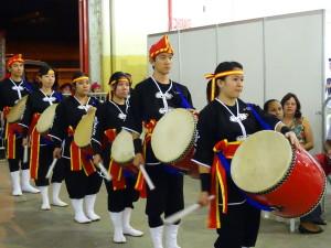 Grupo de taiko da edição 2015: tradição. Crédito da foto: Acenbi/Tao Conteúdo.