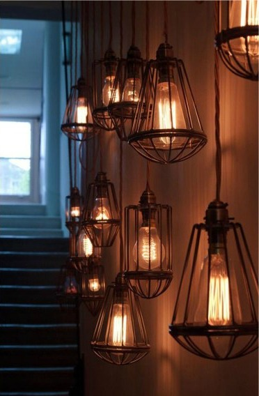 Светильники для кухни в стиле Loft