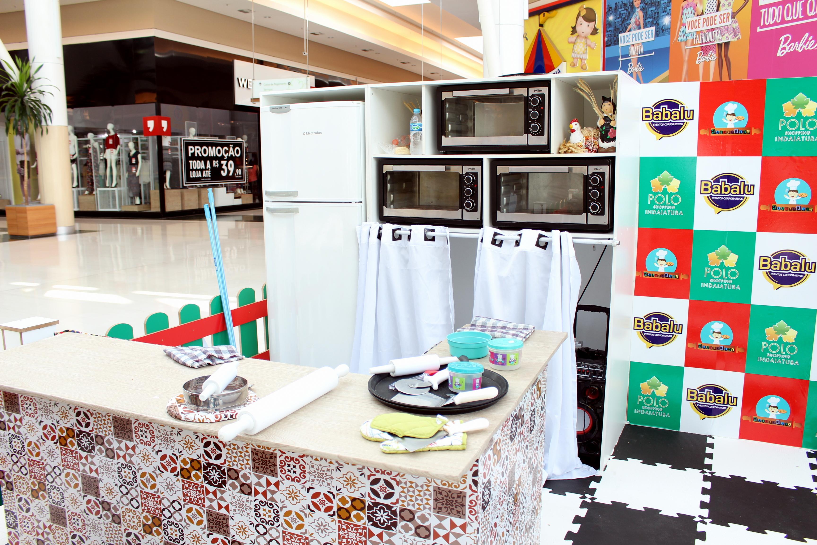 Polo shopping oferece oficina de cozinha para crian as for Caixa horario oficinas